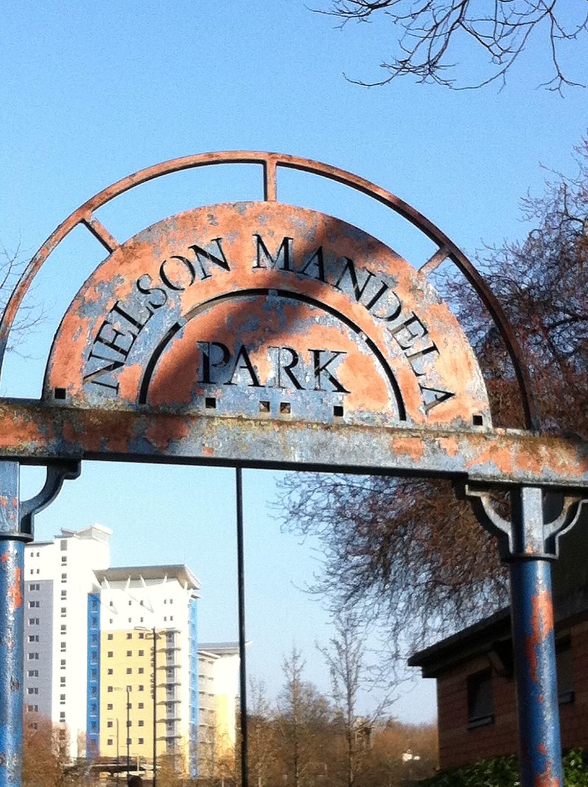 nelson mandela park simple english wikipedia the free
