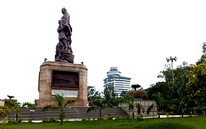 Gandhi maidan wikipedia worlds tallest statue of mahatma gandhiedit malvernweather Choice Image