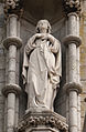 New Ross Church of St. Mary and St. Michael West Façade Statue of St. Mary Detail 2012 09 04.jpg