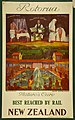 New Zealand Railway poster - Rotorua, Nature's Cure Best Reached by Rail c.1932 (10469001085).jpg