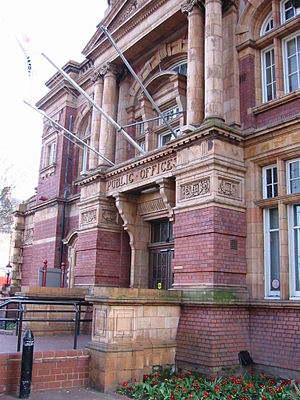 County Borough of East Ham - Image: Newham town hall London