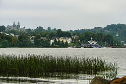 Newport from Lake Memphremagog