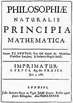 Principia Mathematica, Newton, 1610.