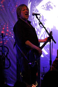 Niall Hone playing with Hawkwind at Hawkeaster 2014