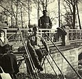 Nicholas II and his daughter Tatiana in the Alexander Park.jpg