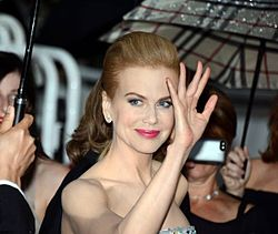A photograph of Nicole Kidman attending the 2013 Cannes film festival