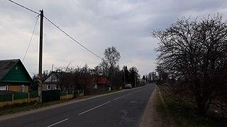Negoreloe Agrotown in Minsk Region, Belarus