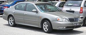 Nissan Cefiro - Nissan Cefiro (A33) in Malaysia.