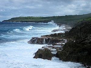 Niue - Niue's coastline