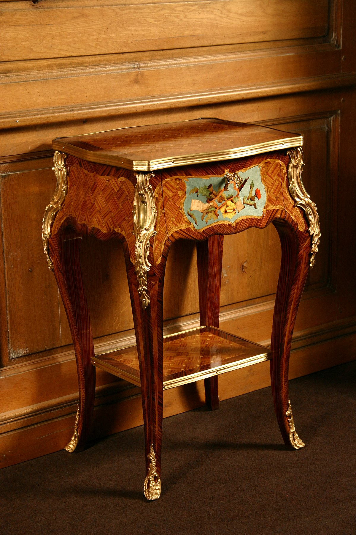 Table de chevet wikip dia - Table de chevet louis xv ...