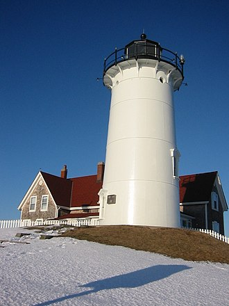 Navigational aid - A lighthouse is an easily recognized aid to navigation.