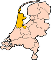 Ligking Noord-Holland