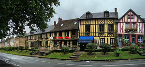 Le Bec-Hellouin - Image: Normandie Eure Bec 1