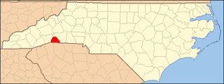 National Register of Historic Places listings in Polk County, North Carolina Wikimedia list article