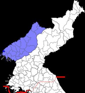 North Pyeongan Province (Republic of Korea) Province in Republic of Korea
