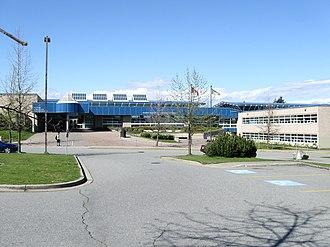 North Surrey Secondary School - Image: North Surrey Secondary (96 Avenue)