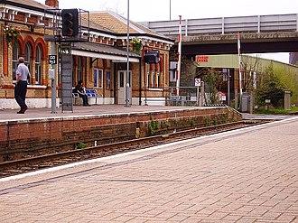 North Camp railway station - Image: North camp station 3