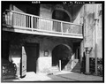 North east wall courtyard. March 1934. - The Cabildo, 711 Chartres Street, New Orleans, Orleans Parish, LA HABS LA,36-NEWOR,4-11.tif