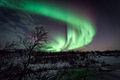 Northern Lights - Aurora Borealis Ringvassøya Tromsø Norway.jpg