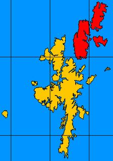 North Isles island group
