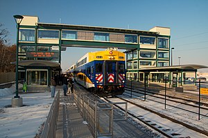 Northstar Commuter Coon Rapids Riverdale station.jpg