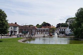 Norton, County Durham - Image: Norton Village Green June 2012
