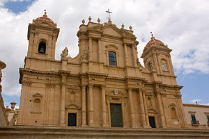 Noto Cathedral - Cathedral Exterior, 2008