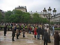 Notre Dame in 2005 08 - funeral of Pope John Paul II.jpg