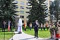 Nové Město na Moravě, unveiling ceremony.jpg