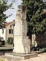 Nucourt (95), monument aux morts, rue de Boutrolle 3.jpg