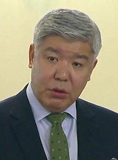 Nurlan Kapparov Kazakh politician