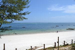 Nyali Beach from the Reef Hotel during high tide in Mombasa, Kenya 7.jpg
