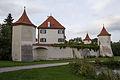 Obermenzing - Schloss Blutenburg - Schlossmauer 003.jpg