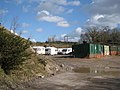 Offices and accommodation, Heathfield landfill restoration site - geograph.org.uk - 1750615.jpg