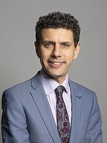 Official portrait of Alex Sobel MP crop 2.jpg