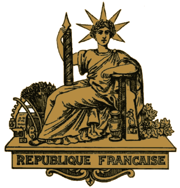 File Official Seal Of The Third French Republic Png
