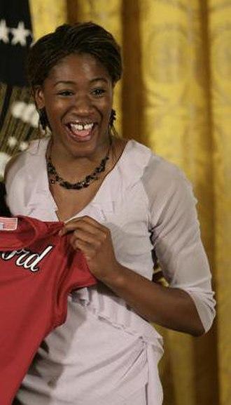2004 NCAA Division I Women's Volleyball Tournament - NCAA Tournament MVP Ogonna Nnamani set an NCAA Tournament record for kills in an NCAA Tournament. Nnamani had 165 kills through six tournament matches.
