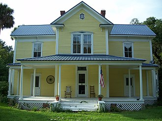 National Register of Historic Places listings in Marion County, Florida - Image: Oklawaha Alfred Ayer house 01
