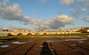 Silivri - Mimar Sinan Bridge in Silivri.