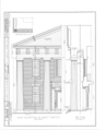 Old Knox County Courthouse, Main Street, Knoxville, Knox County, IL HABS ILL,48-KNOV,1- (sheet 3 of 9).png