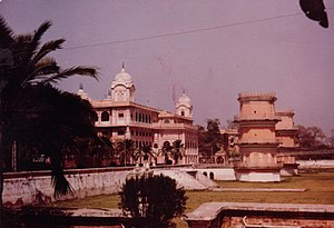Moti Bagh Palace - Old Moti Bagh palace in Patiala, seat of North Zone Cultural Centre (NZCC)