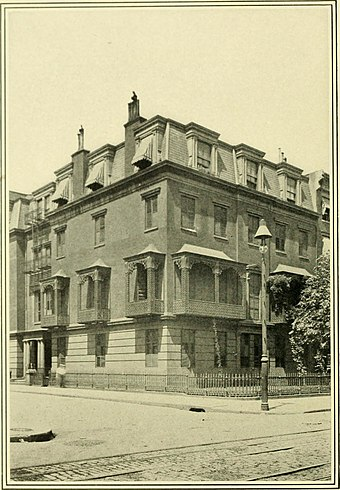 Rutherfurd's home in Manhattan