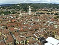 Old town of Verona seen from the Lamberti tower.jpg