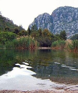 Yanartaş - Waters near Yanartaş