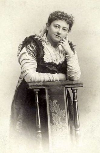 Culture of South Africa - Olive Schreiner, the author of The Story of an African Farm (1883)