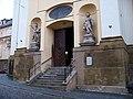 Olomouc, Žerotínovo náměstí, kostel sv. Michala, vchod.jpg