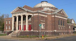 Calvin Memorial Presbyterian Church church building in Omaha, United States of America