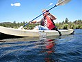 On visiting Arizona, Westley Field insisted in going kayaking somewhere. (2619915288).jpg