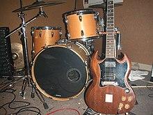 instrumentos banda de rock