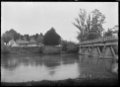 One-way bridge across the Rangitaiki River at Te Teko, Whakatane District. ATLIB 291941.png